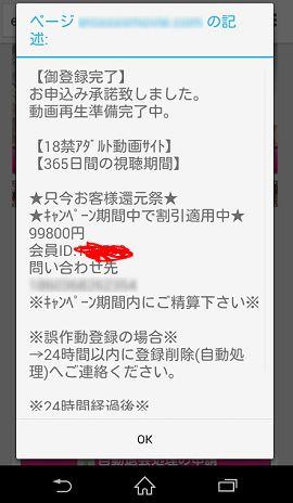 アダル と サイト 請求 画面 iphone